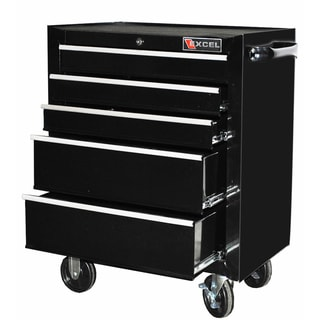 Excel 26-inch Five-drawer Roller Cabinet