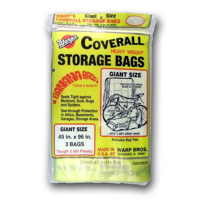 Warp's Banana Coverall Storage Bags Case - Thumbnail 0
