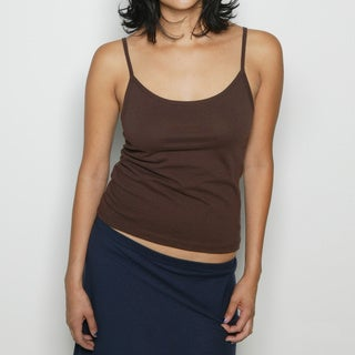American Apparel Women's Sheer Spaghetti Tank Top