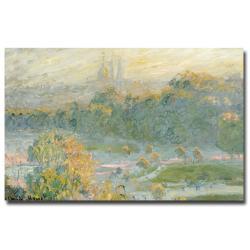 Claude Monet 'The Tuileries' Medium Canvas Art
