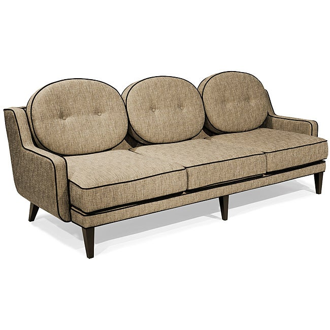 Modern Cumin Fabric Sofa
