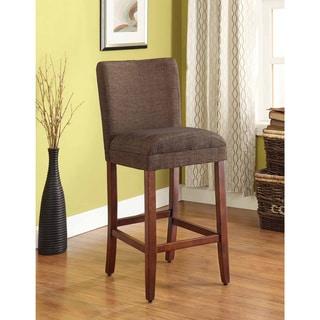 HomePop Upholstered Parson Barstool
