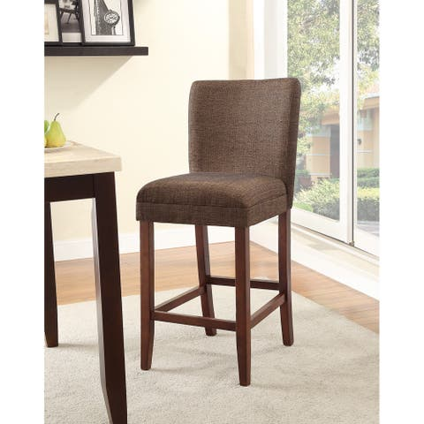 HomePop Upholstered Parson Barstool - 29 inches