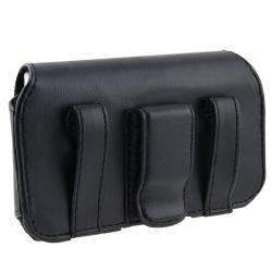 Leather Case for Blackberry Torch 9800/ Bold Slider - Thumbnail 1
