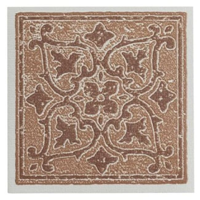 Shop Nexus Accent Terra X Self Adhesive Wall Tile Tiles Sq - 4x4 terracotta tile