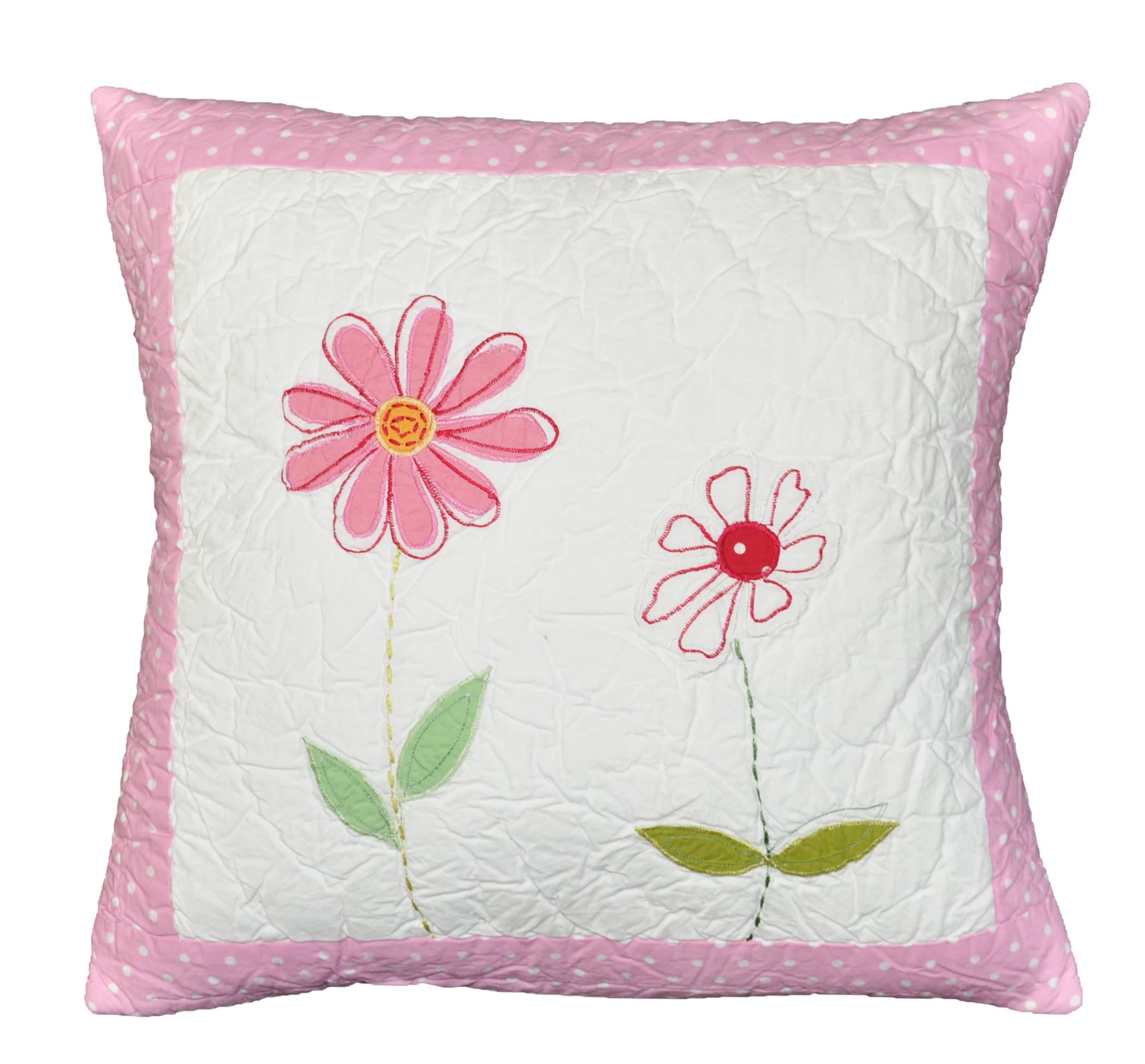 Emily's Flower Decorative Pillow