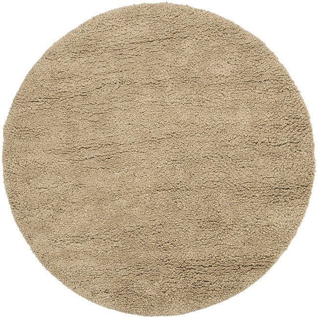 Hand Woven Edmonton New Zealand Wool Plush Shag Area Rug 8 X27