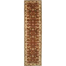 Hand-knotted Anastacia Semi-worsted New Zealand Wool Rug (2'6 x 10')
