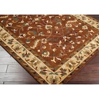 Hand-knotted Anastacia Semi-worsted New Zealand Wool Area Rug - 2'6 x 10'