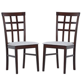 Link to Warehouse of Tiffany Justin Armless Dining Chairs (Set of 8) Similar Items in Dining Room & Bar Furniture