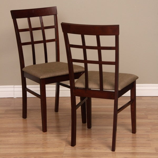 Shop Warehouse Of Tiffany Justin Traditional Dining Chairs