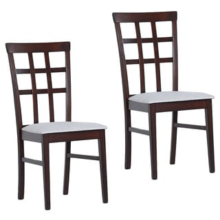 Warehouse of Tiffany Justin Upholstered Dining Chairs (Set of 4)