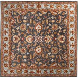 Hand-tufted Akaishi Wool Rug (8' x 8')