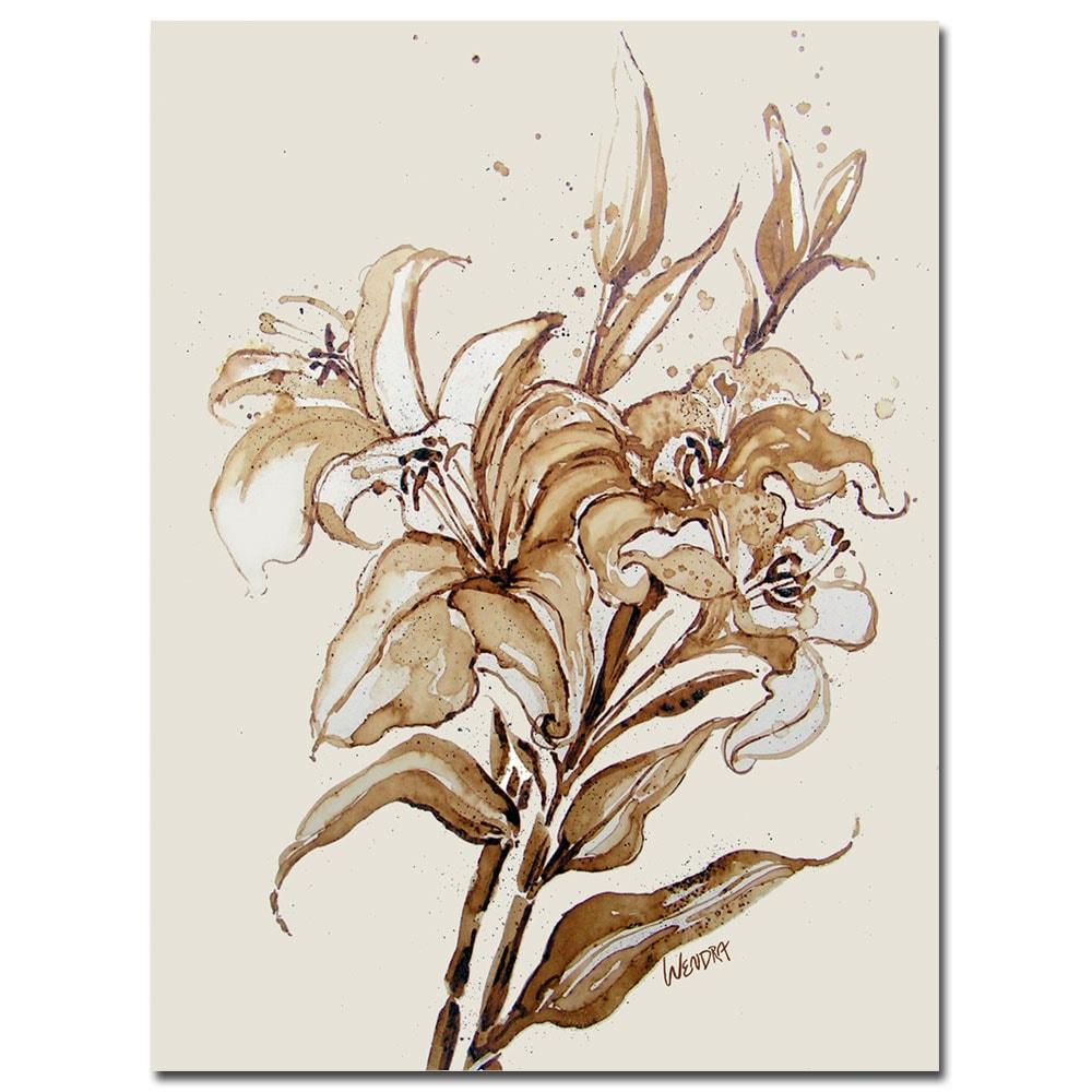 Wendra 'Lily' Canvas Art