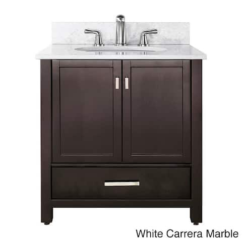 Avanity Modero 36'' Complete Single Vanity in Espresso Finish