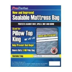 ProSeries Sealable King Mattress Bag (Pack of 6)