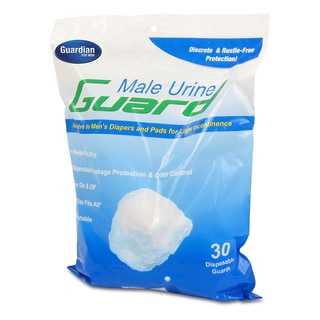 Guardian Male Urine Guard, 30 ct