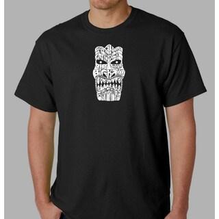 Los Angeles Pop Art Men's Tiki Big Kahuna T-shirt