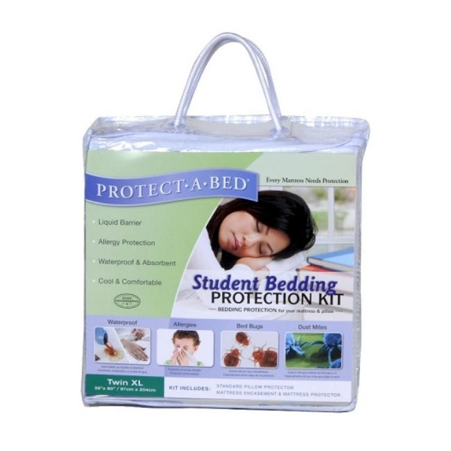 Protect-a-Bed Twin XL-size Student Bedding Kit