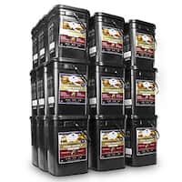 Wise Company Long Term Emergency Food Storage (4,320 Servings) - Black
