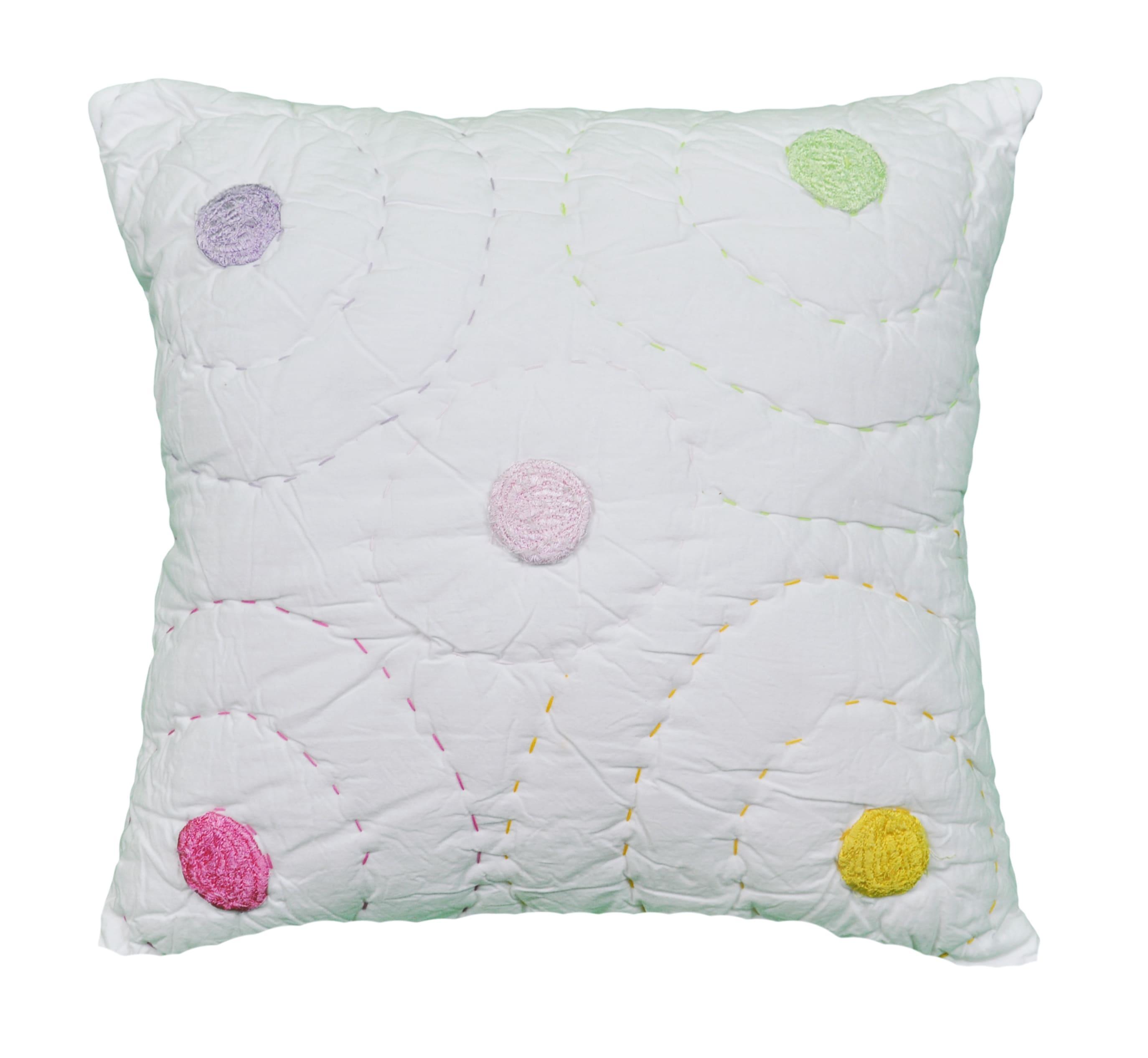 Cottage Home Laila Dot Reversible Decorative Pillow