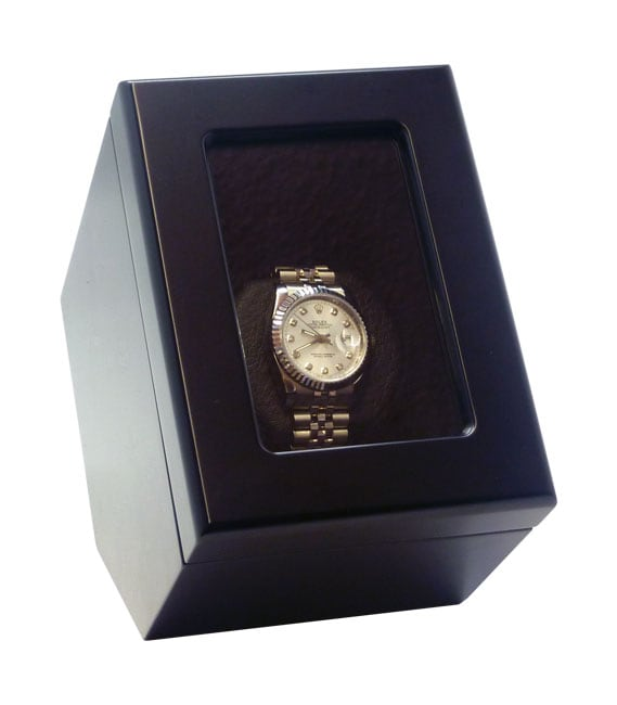 Heiden Prestige Black Single Watch Winder - Thumbnail 0
