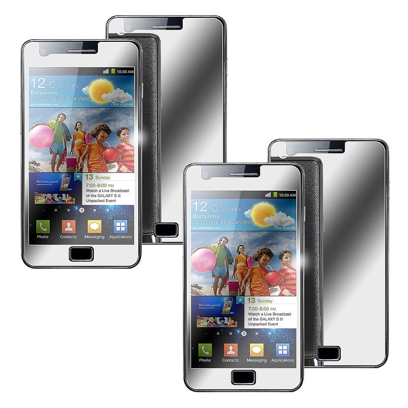 Mirror Screen Protector for Samsung Galaxy S i9100 (Pack of 2)