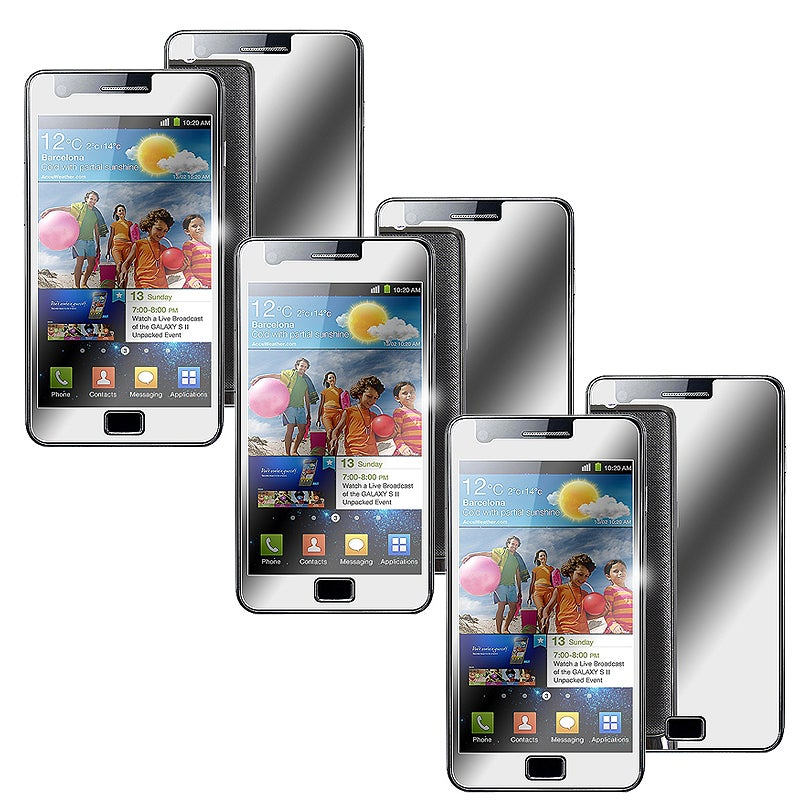 Mirror Screen Protector for Samsung Galaxy S i9100 (Pack of 3)