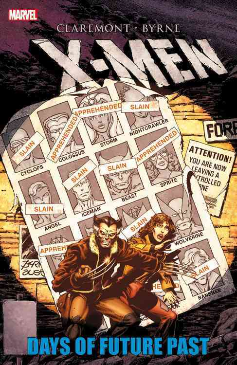 X-men: Days of Future Past (Paperback) - Thumbnail 0