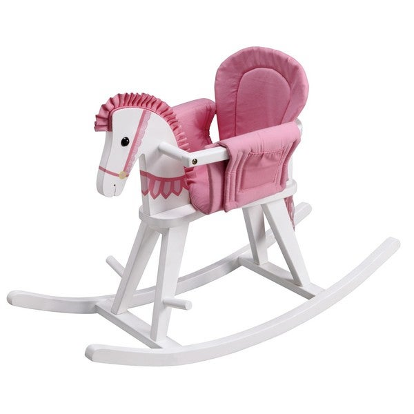 Teamson Kids Pink Convertible Rocking Horse