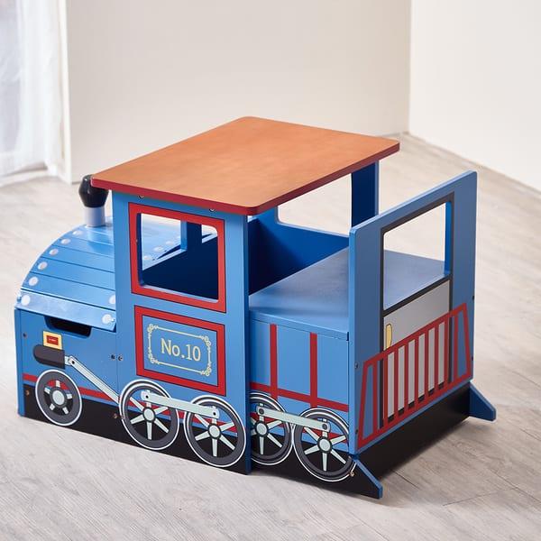 Shop Teamson Kids Children S Train Writing Desk Free