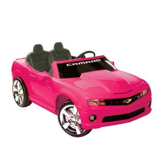 Kid Motorz Pink Ride-on 2-seater Chevrolet Camaro