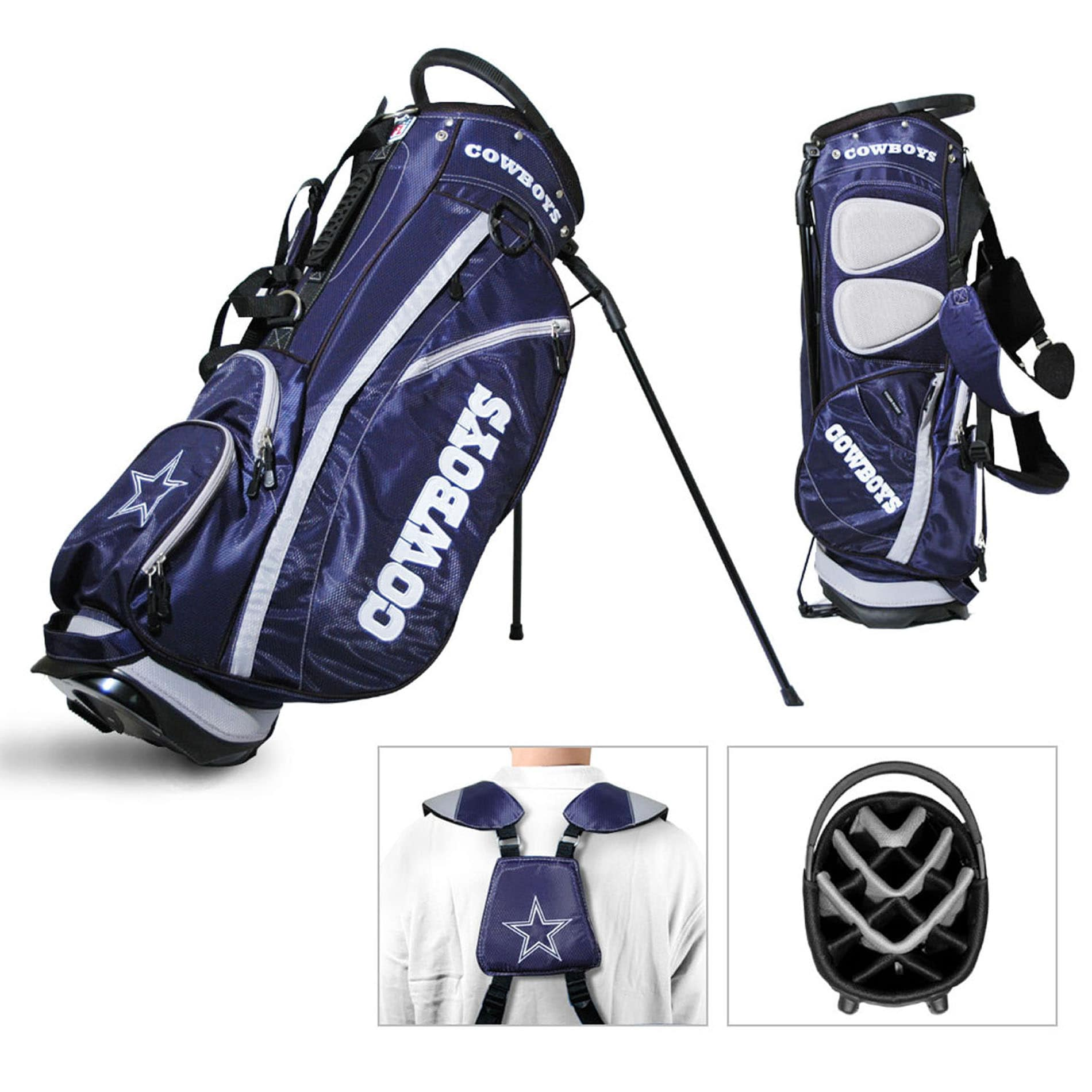 Dallas Cowboys NFL Fairway Stand Golf Bag