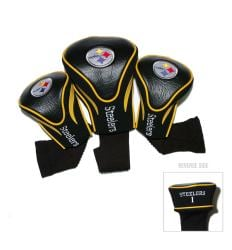 Pittsburgh Steelers NFL Contour Wood Headcover Set