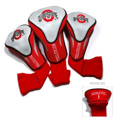 Ohio State Buckeyes NCAA Contour Wood Headcover Set