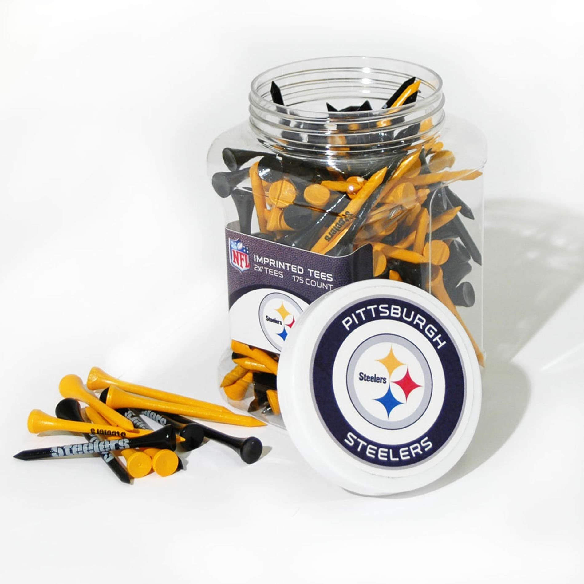 Pittsburgh Steelers 175 Tee Jar - Thumbnail 0