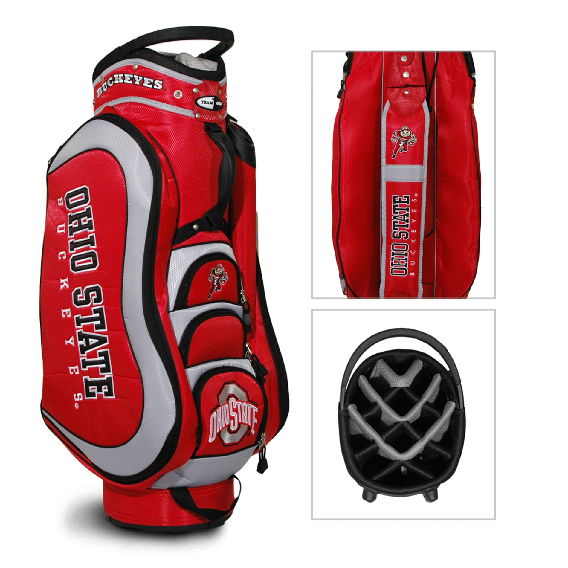 Ohio State Buckeyes NCAA Medalist Cart Golf Bag