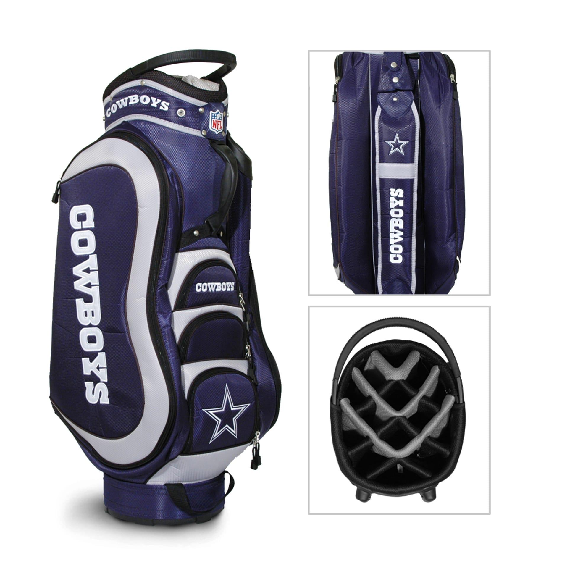 Dallas Cowboys Nfl Medalist Cart Golf Bag