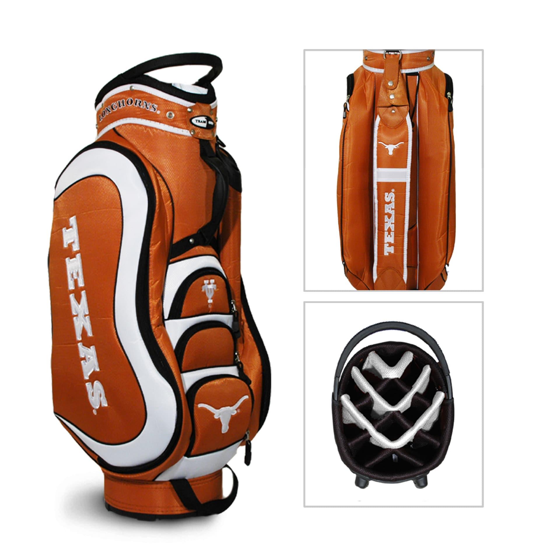 Texas Longhorns NCAA Medalist Cart Golf Bag