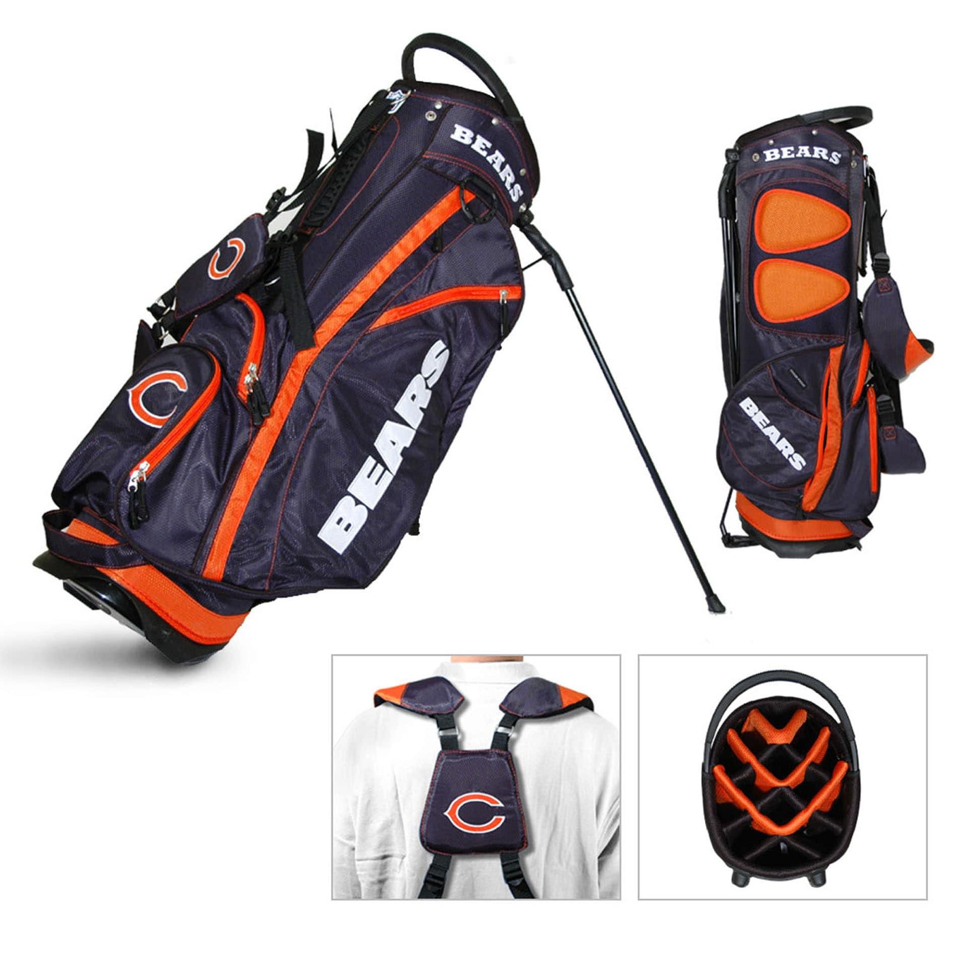 Chicago Bears NFL Fairway Stand Golf Bag