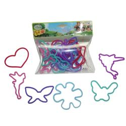 HER Accessories Disney Fairies Silicone Bracelet Bandz (Set of 24)