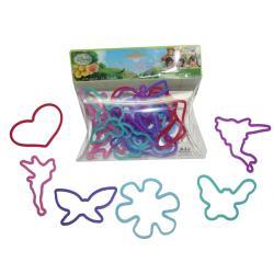 HER Accessories Disney Fairies Silicone Bracelet Bandz (Set of 24)