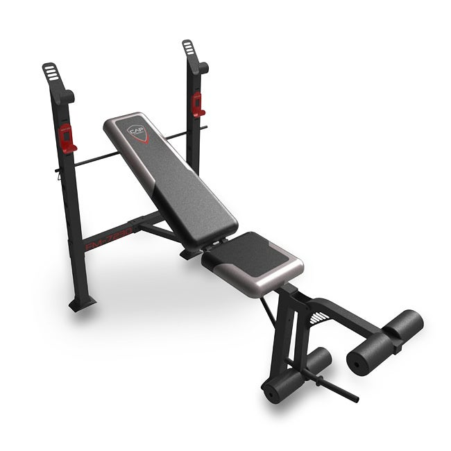 CAP Barbell FM-7230 Steel-framed Strength Standard Bench with Leg Lift