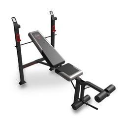 CAP Barbell FM-7230 Steel-framed Strength Standard Bench with Leg Lift