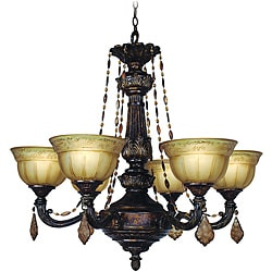 Woodbridge Lighting Lucerne 6-light Old World Bronze Chandelier