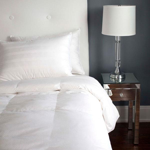 Tommy Bahama Winter White Down Baffle Box Comforter