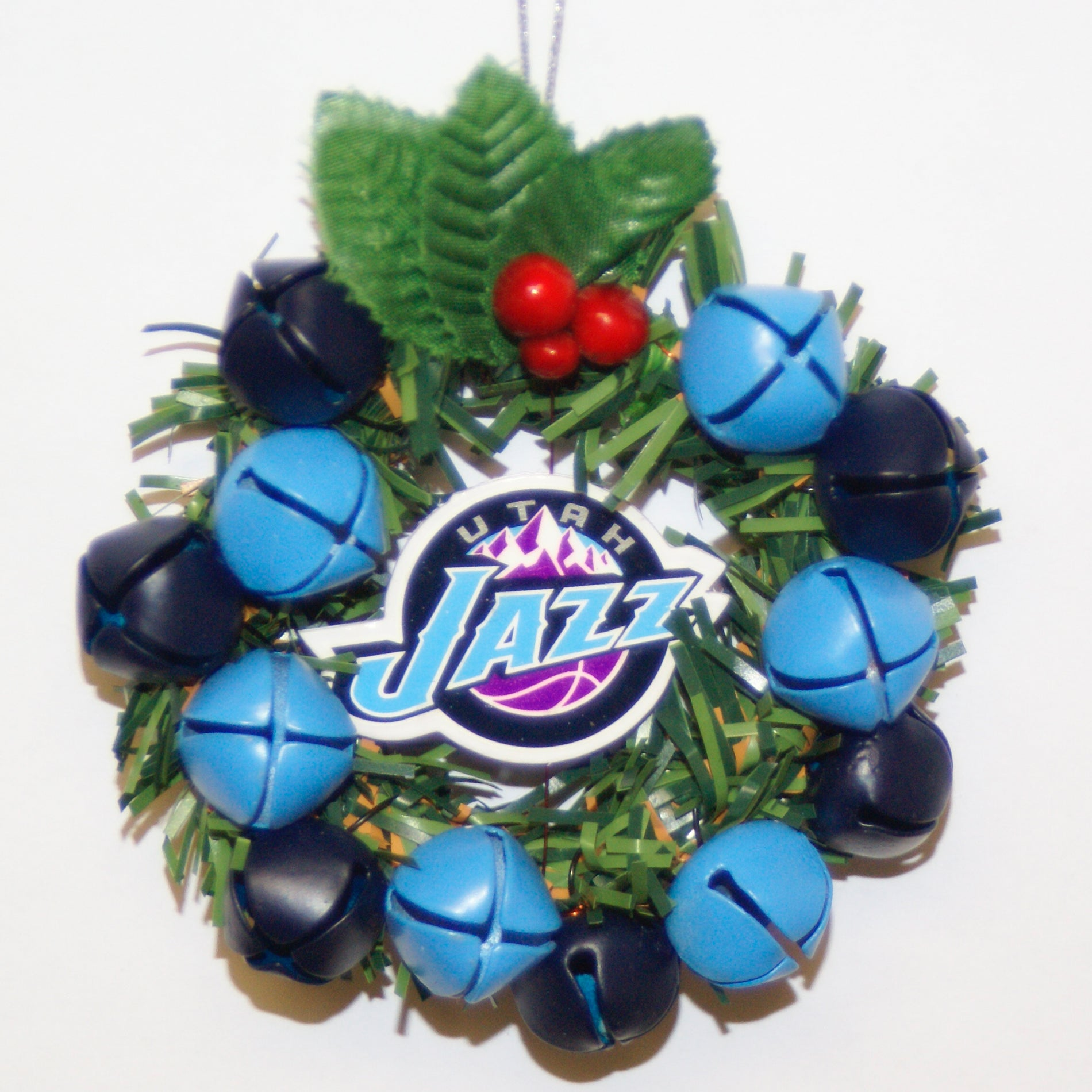 Utah Jazz Wreath Ornament