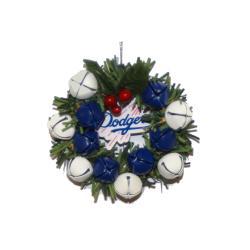 Los Angeles Dodgers Wreath Ornament - Thumbnail 0