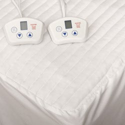 Electrowarmth Heated Dual-control Electric California King-size Mattress Pad