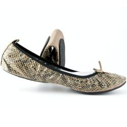 Fit in Clouds Women's Brown Foldable Flats